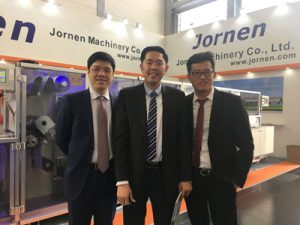 Our sales team in Interpack 2017